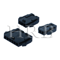 P3020 Female Single Row Plug Housing Connector with Panel Mount Ears