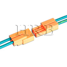 wire to wrie 2 poles luminaire ballast connector