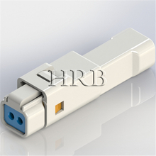 2 holes water-proof connector